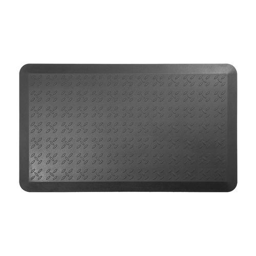 Mat antifatiga Lumi mediano, 55 x 92 x 1.6 cm, antideslizante, negro