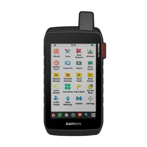 Navegador GPS de mano Garmin Montana 750i, topoactive sudamerica, 16GB, 18 horas