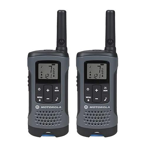 Radio frs Motorola Talkabout T200 set de 2, 14 canales, alcance 32 km, aprox. 12 horas