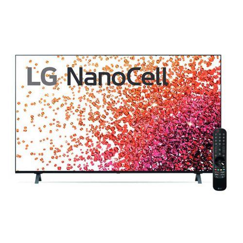 "TV Smart LG 4K 50"" NanoCell, Thinq Ai, Ultra HD, 50NANO75SPA"