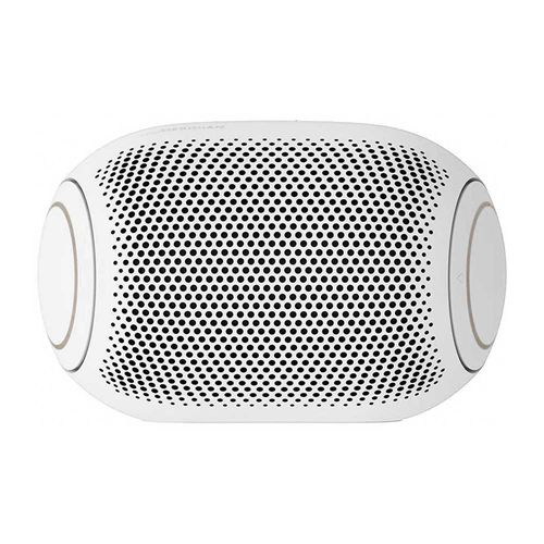 Parlante bluetooth LG Xboom Go PL2 portátil 5w, ipx5, máx. 10 horas, blanco