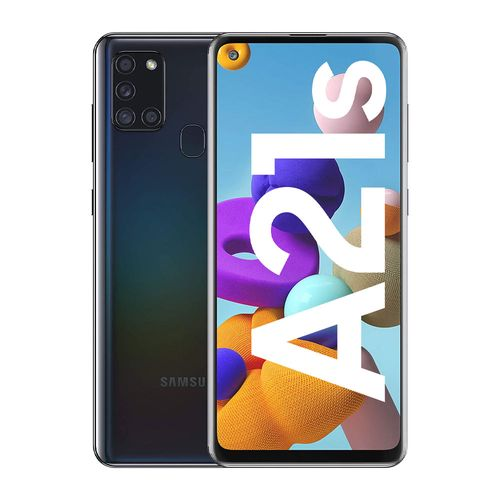 "Celular Samsung Galaxy A21s 64GB 4GB ram 48MP 6.5"" negro"