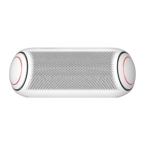 Parlante bluetooth LG Xboom Go PL7W led, IPX5, máx. 24 horas, blanco