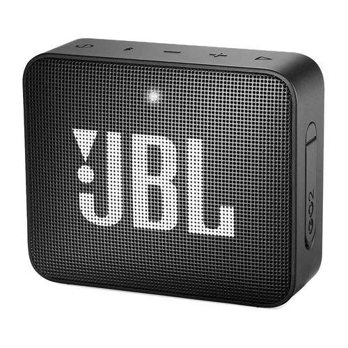 Parlante bluetooth JBL Go 2 IPX7, máx. 5 horas, negro