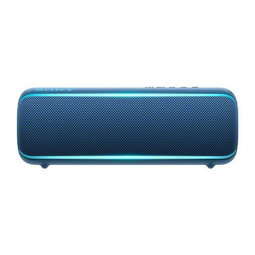 Parlante bluetooth Sony Extra Bass XB22 NFC led, IP67, máx. 12 horas, azul