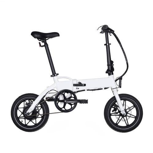 Bicicleta eléctrica Onebot T3 autonomía 20-30 km, 250W, vel. 25 km/h, 110 kg, blanco