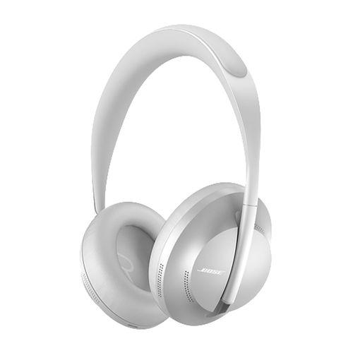 Audífono con cancelación de ruido Bose 700 micrófono incorporado, 11 ajustes, máx. 20 horas, control de música y llamadas, silver