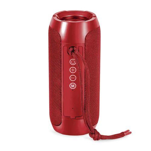 Parlante bluetooth Decibel Life Color batería recargable, rojo