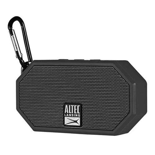Mini parlante bluetooth Altec Lansing H2o 2 IP67, máx. 6 horas, negro
