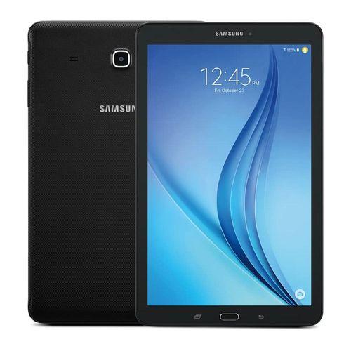 "Tablet Samsung Tab E 9.6"", 16GB, 1.5GB ram, cámara principal 5MP, frontal 2MP, Quad-Core, 5000 mAh, negro"