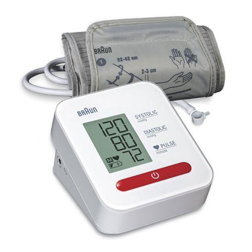 Tensiómetro brazo Braun memoria de la última medición