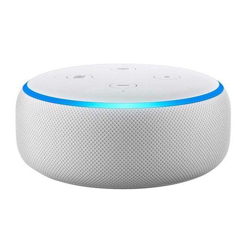 Altavoz inteligente Amazon Echo Dot 3ra generación, control de voz con Alexa, blanco