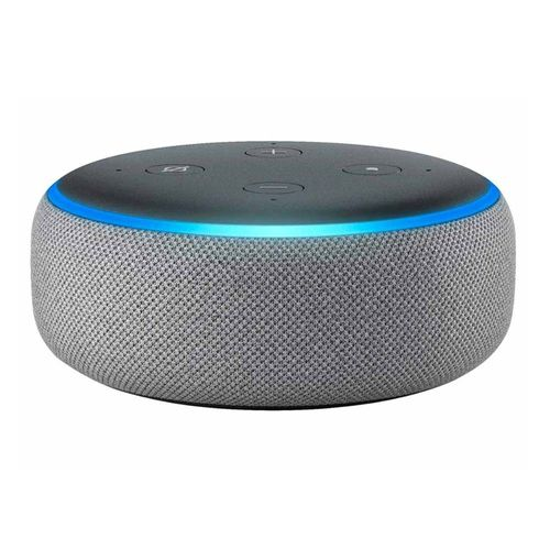 Altavoz inteligente Amazon Echo Dot 3ra generación, control de voz con Alexa, gris