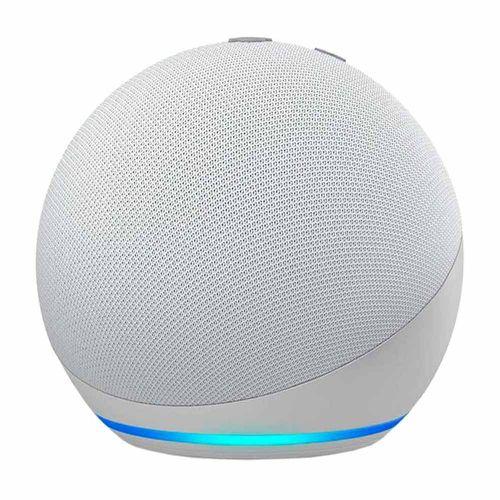 Altavoz inteligente Amazon Echo Dot 4ta generación, control de voz con Alexa, blanco