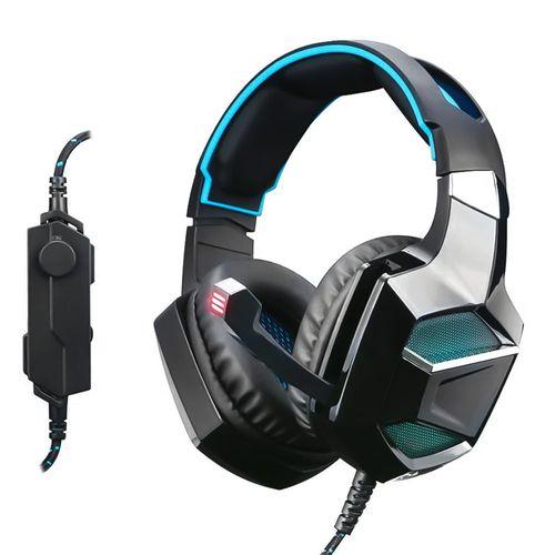 Audífono gaming Radioshack Titan conexión 3.5 mm y usb