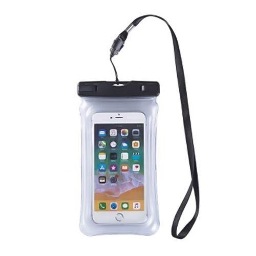 Protector impermeable Rubinetti para celular con cuerda negra