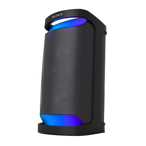 Parlante de torre bluetooth Sony XP500, IPX4, luces led, máx. 20 horas, negro