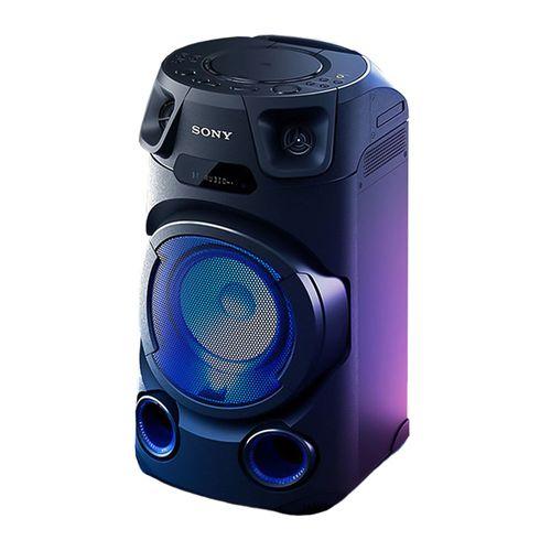 Parlante de torre bluetooth Sony MHC-V13, luces fiesta, karaoke, FM, control remoto