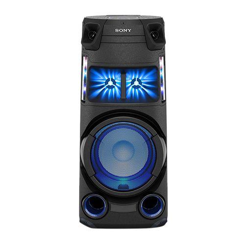 Parlante de torre bluetooth Sony MHC-V43D, luces fiesta, karaoke, FM, control remoto