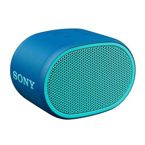 Parlante bluetooth Sony Extra Bass XB01 IPX5, máx. 6 horas, azul