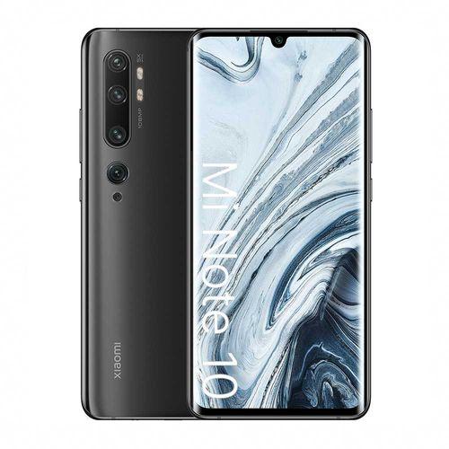 "Celular Xiaomi Mi Note 10 128GB, 6GB ram, cámara principal 108MP + 12MP + 20MP + 5MP + 2MP, frontal 32MP, 6.47"", Snapdragon, negro"