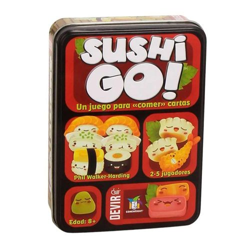 Juego de mesa Devir Sushi Go 10+