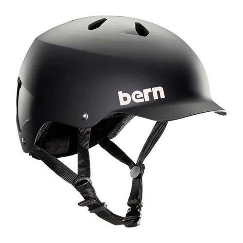 Casco Bern Watts M carcasa ABS, espuma EPS, 55.5-59 cm, negro mate