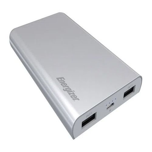 Batería externa Energizer Ue8003 carga rápida, 8000 mah, gris