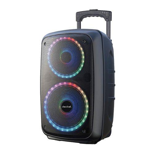 Parlante de torre bluetooth Decibel 50W luces led