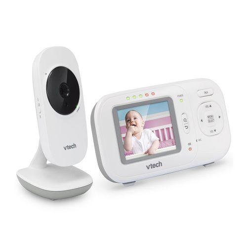 Monitor de video para bebé Vtech VM2251 visión nocturna infraroja, hasta 100 m, batería recargable