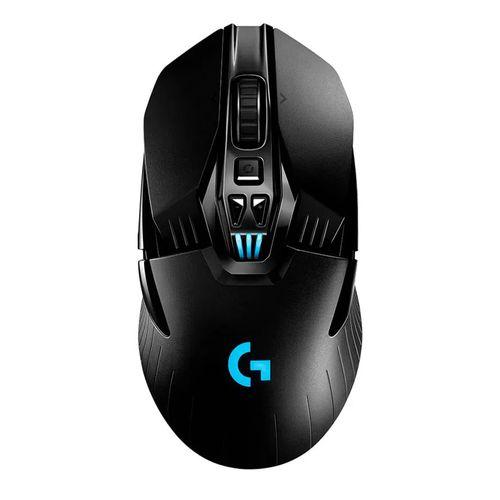 Mouse gaming inalámbrico Logitech G903 Lightspeed, 16000 dpi, 11 botones, recargable, luces RGB