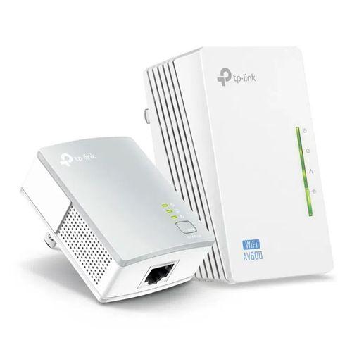 Kit extensor wifi TP-Link Powerline AV600, 2 adaptadores, 300 mbps, cobertura 300 metros