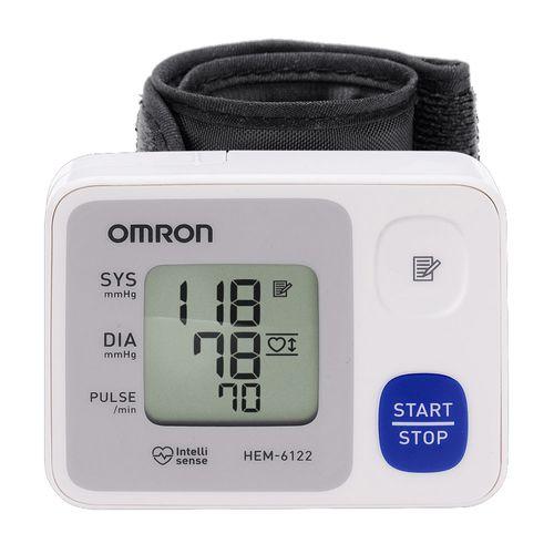 Tensiómetro muñeca Omron HEM-6122 automático, sensor de posición, 30 memorias
