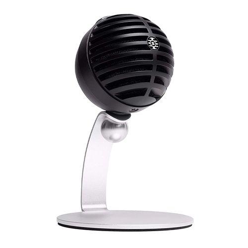 Micrófono Shure MV5C-USB, alámbrico, cardioide, cable 1m, negro